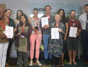 EnviroGrant award winners July 2018