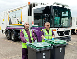 Veolia Haringey recycling collection