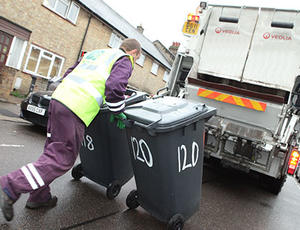 Veolia Haringey refuse collection