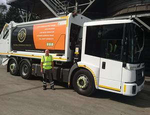 Veolia UK _ Electric refuse vehicles to collect Sheffield's recycling and waste