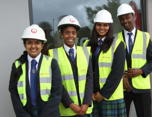 Veolia nottinghamshire Materials Recovery School Visits