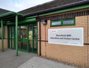 Entrance to the MRF Visitor Centre