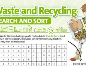 Nottinghamshire Recycles Waste Warriors - Search and Sort