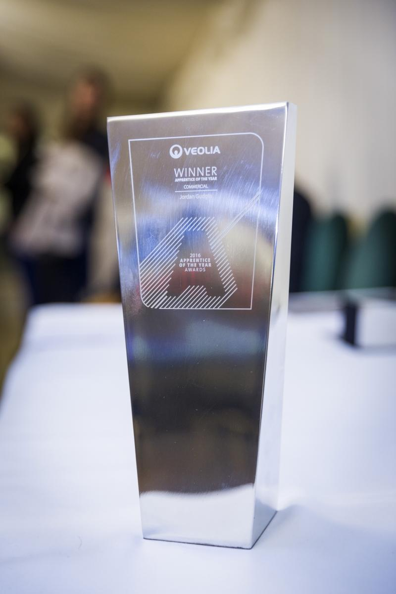Veolia UK | Apprentice of the year award
