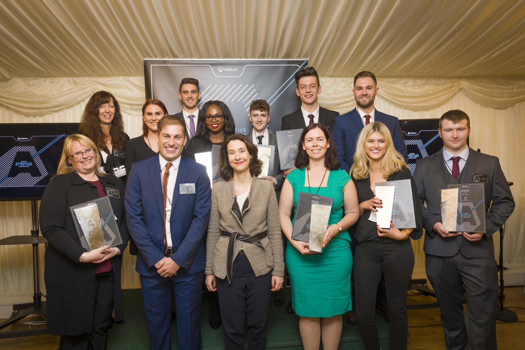 Veolia UK | The Apprentice of the Year winners