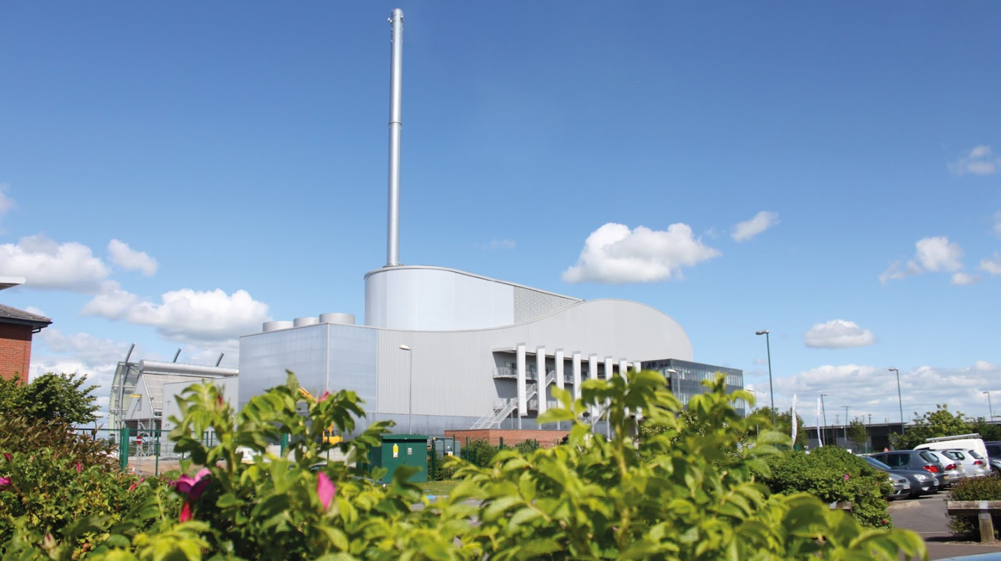 Veolia UK | Battlefield energy recovery facility main image