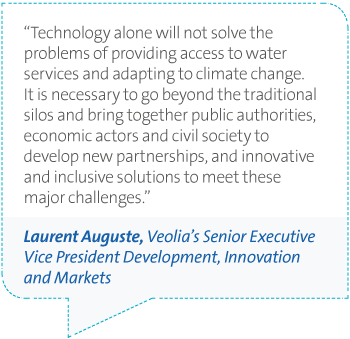 Veolia UK | Water 2027 Laurent Auguste quote