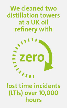 Veolia UK | Solutions for oil & gas infographic 2