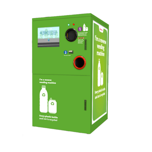 Veolia UK _ Reverse Vending Machines RVM 100 200