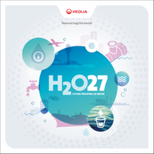 Cover of Water 2027 report from Veolia UK