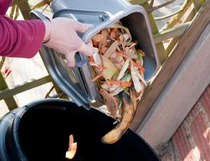 food and garden waste home composting